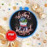 Cross stitch pattern «pdf-T-0050 Winter Wonderland»
