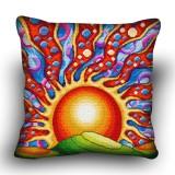 Pillow cross stitch kit «H-0015 Splendid Sunrise»