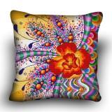 Pillow cross stitch kit «H-0035 Fractious Flower»