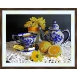 Bead embroidery kit «A-0111 Tea with Lemon»