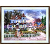 Bead embroidery kit «A-0191 The Turret House»