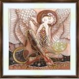 Bead embroidery kit «A-0251 Sleeping Angel»
