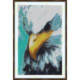 Bead embroidery kit «A-0312 Eagle-eye»