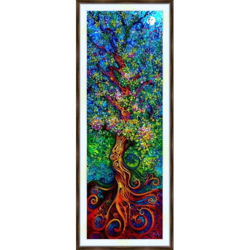Bead embroidery kit «A-0392 Magical Tree»