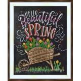 Bead embroidery kit «A-0412 Beautiful Spring»