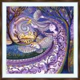 Bead embroidery kit «A-0476 Owl Dreams»