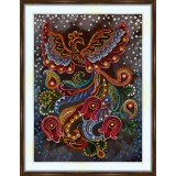 Bead embroidery kit «A-0516 Soaring Bird»