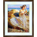Bead embroidery kit «K-0080 Day at the Shore»