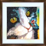 Bead embroidery kit «K-0100 Butterfly Facination»