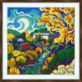 Cross stitch kit «S-0028 Autumn Landscape»