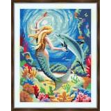 Cross stitch kit «S-0038 Mermaid»