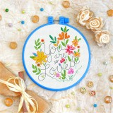 Cross stitch kit «T-0086 You Are so Loved»