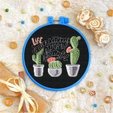 Cross stitch kit «T-0116 Life is Like a Cactus»