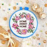 Cross stitch kit «T-0136 Home Sweet Home 3»
