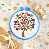 Cross stitch kit «T-0271 Love Tree»