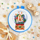 Cross stitch kit «T-0307 Gingerbread House»