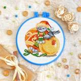 Cross stitch kit «T-0346 Christmas Birdie»