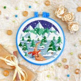 Cross stitch kit «T-0366 Winter Fox»