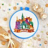 Cross stitch kit «T-0409 India»