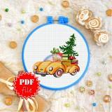 Cross stitch pattern «pdf-T-0239 Christmas Tree»