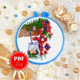 Cross stitch pattern «pdf-T-0358 Christmas Lantern»
