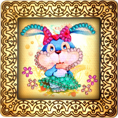 Magnet bead embroidery kit «M-0089 What Happened to my Ears»